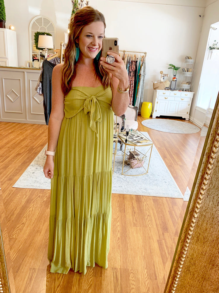 Promised Perfection Maxi in Lime