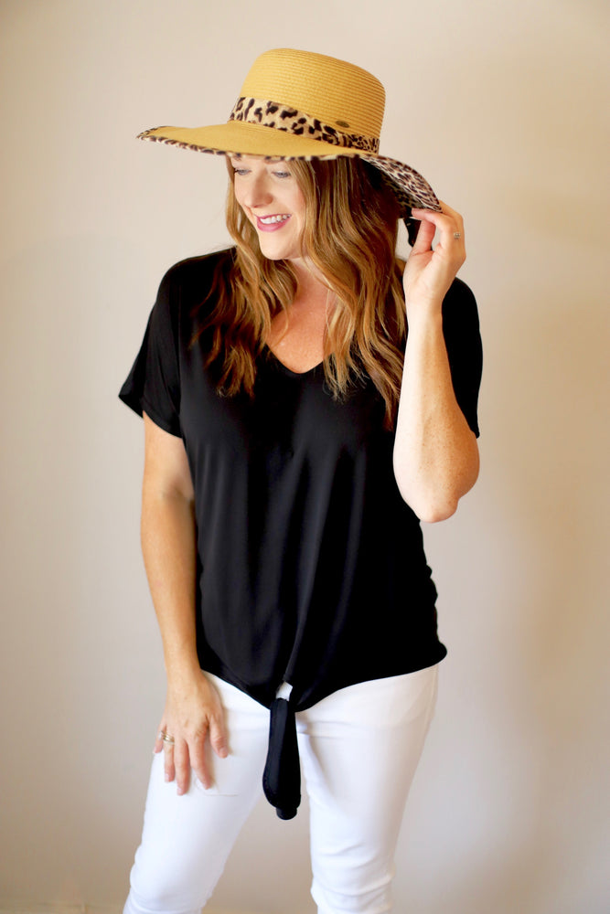 Casual & Carefree Top in Black