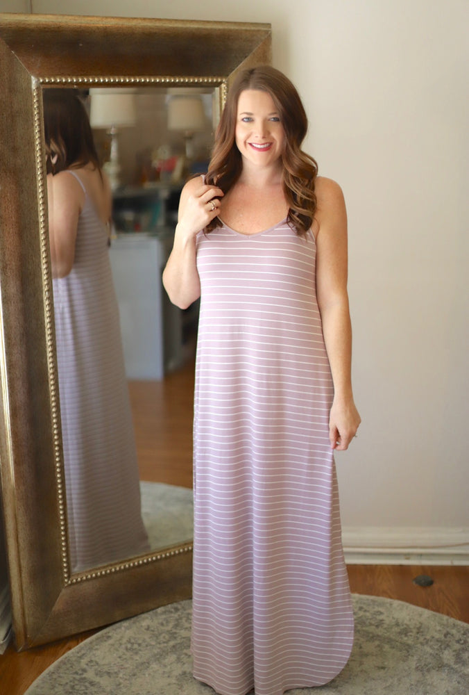 So Relaxing Maxi in Mauve