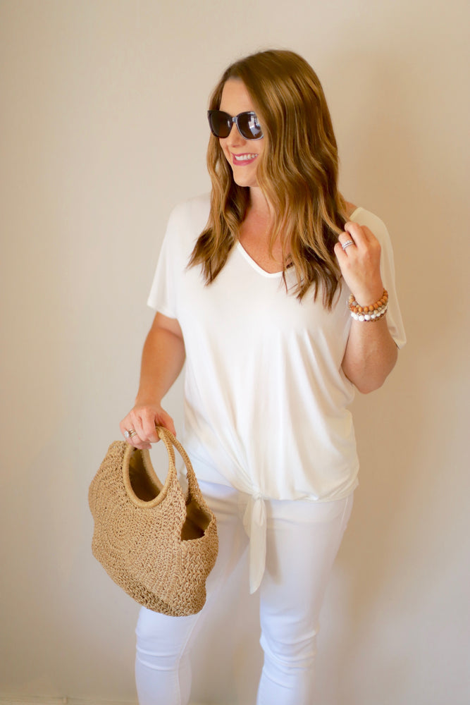 Casual & Carefree Top in White