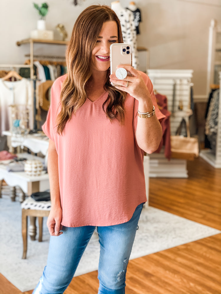 Always Loved It Top in Blush