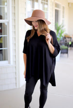 Perfect Poncho in Black