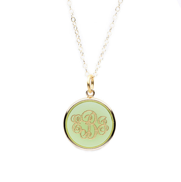 Vineyard Round Necklace