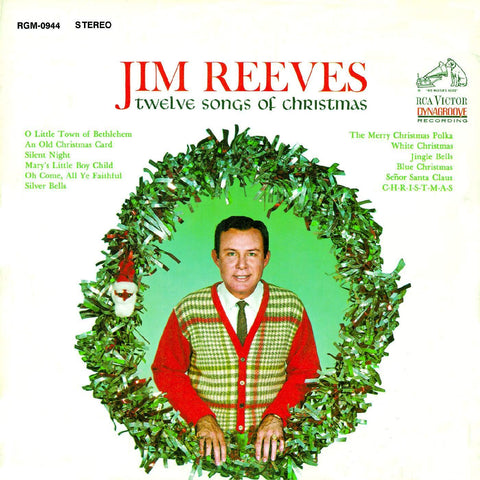 Jim Reeves 12 Songs of Christmas CD