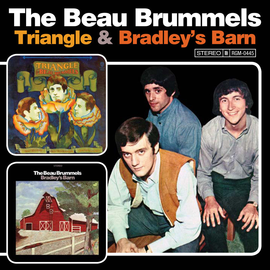 The Beau Brummels Triangle/Bradley's Barn CD