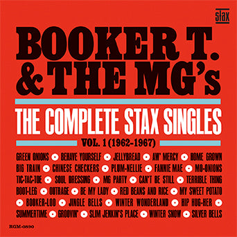 Booker T. & The MG's Stax Singles Vol. 1 2-LP
