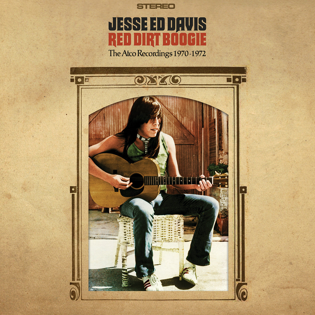 Jesse Ed Davis Red Dirt Boogie CD