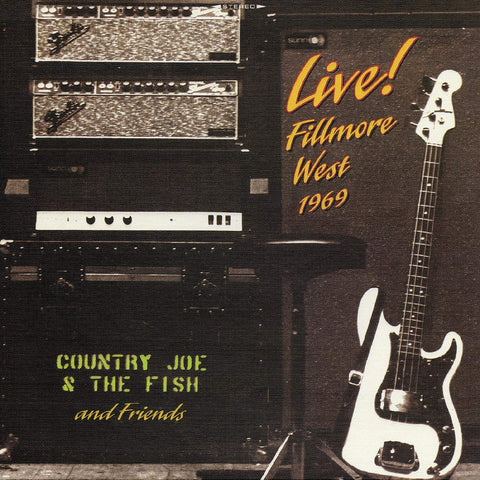 Country Joe & The Fish and Friends Live (2-LP)