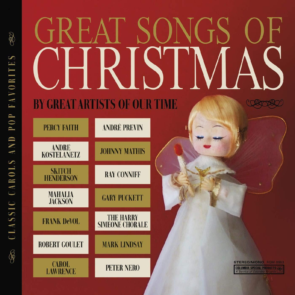 The Great Songs of Christmas Classic Carols and Pop CD