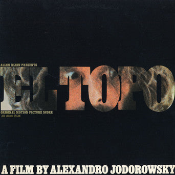 El Topo Soundtrack CD