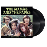 The Mamas and the Papas Black The Complete Singles (2-LP Set) Pack Shot