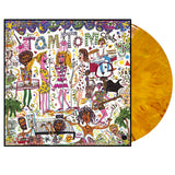 Tom Tom Club LP Yellow  and Red Vinyl pack shot