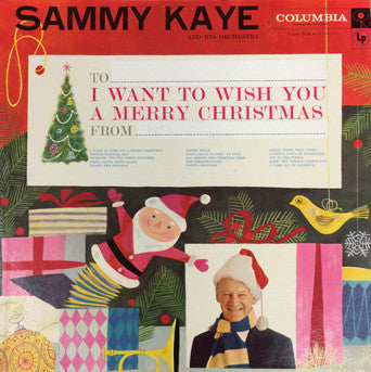 Sammy Kaye I Want to Wish You a Merry Christmas CD