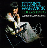 Dionne Warwick Odds & Ends--Scepter Records Rarities CD with Autograph