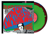 Timothy Leary Turn On, Tune In, Drop Out LP Red, Blue and Green Vinyl Pack Shot