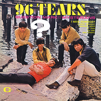 Question Mark and the Mysterians 96 Tears Clear LP