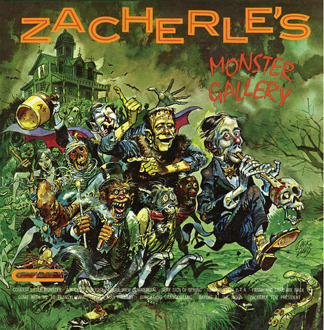 Zacherle Monster Gallery LP
