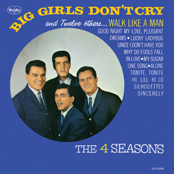 The 4 Seasons Big Girls Don't Cry and Twelve (Mini LP) CD