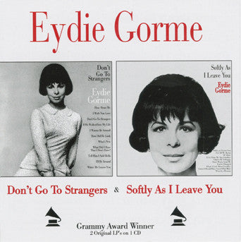 Eydie Gorme Don't Go To CD