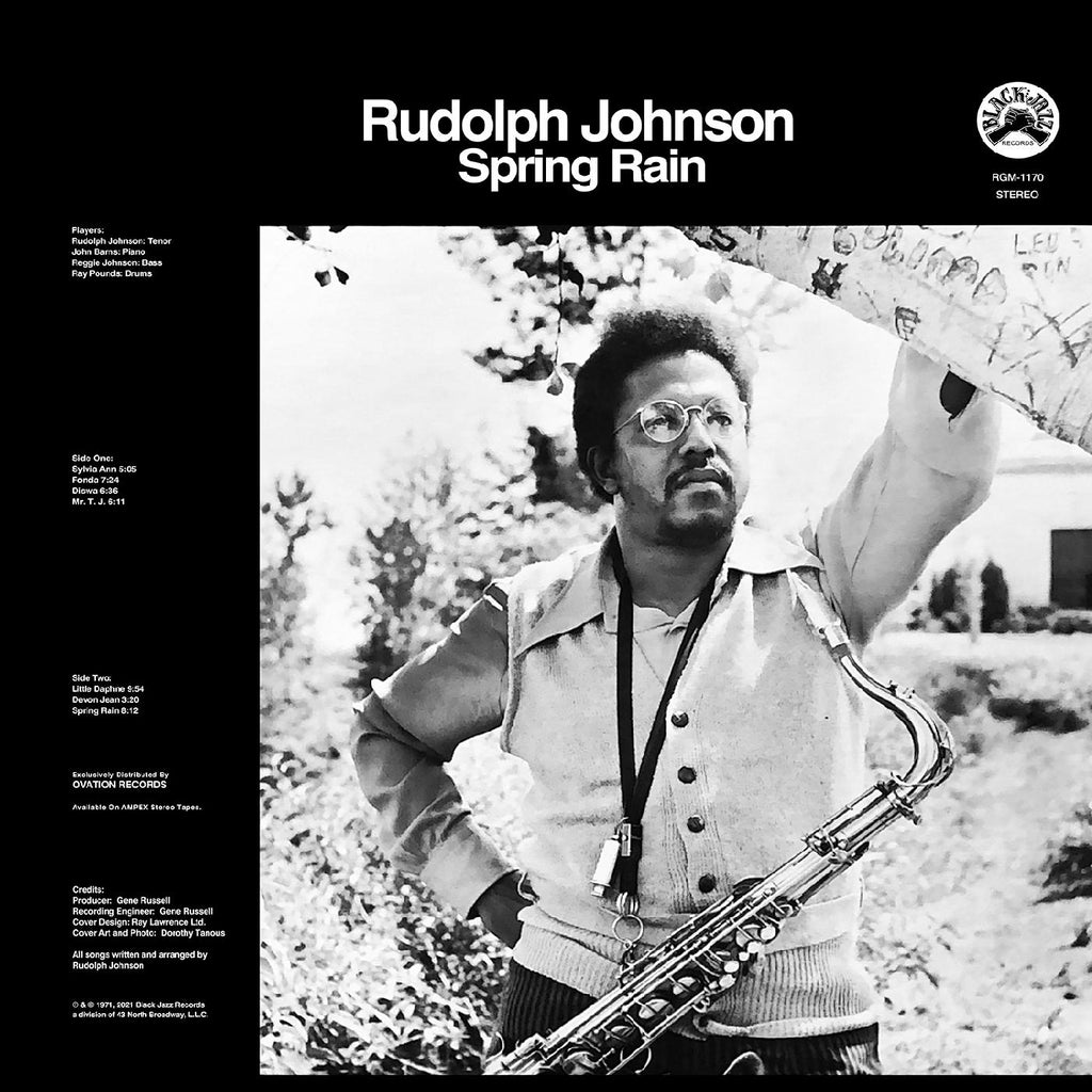 Rudolph Johnson Spring Rain LP