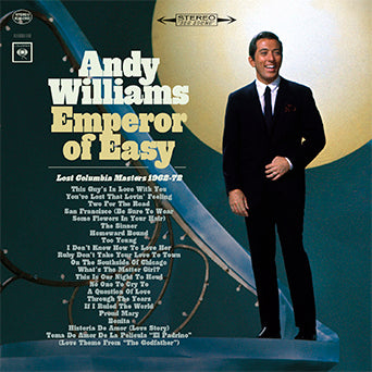 Andy Williams Emperor of Easy Lost Columbia Masters 62-72 CD