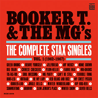 Booker T. & The MG's Stax Singles Vol. 1 CD