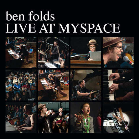 Ben Folds Live at Myspace CD