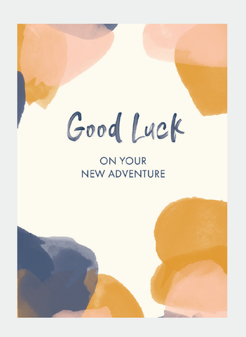 MM157 Good Luck New Adventure (Pack of 6)