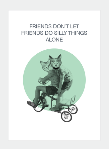 AA12 Friends don't let... (Pack of 6)