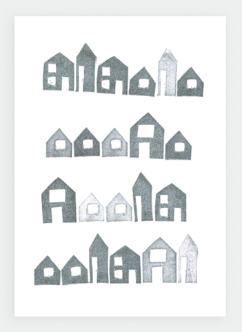 KW15 Little Houses | Krissie Watson (Pack of 6)