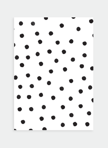 MC24 Black dots  (Pack of 6)