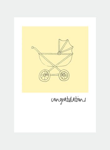 MC60 pram yellow  (Pack of 6)
