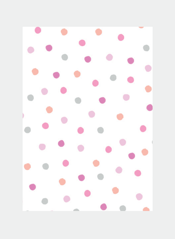 MC64 Pink Dots  (Pack of 6)