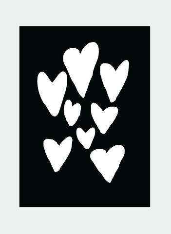 MC69 Hearts (Pack of 6)