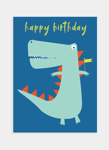 MC79 Birthday Dinosaur (Pack of 6)