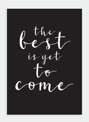 MM122 The best is yet to come (Pack of 6)