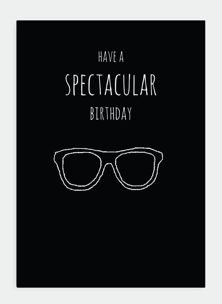 MM130 Have a spectacular birthday... (Pack of 6)