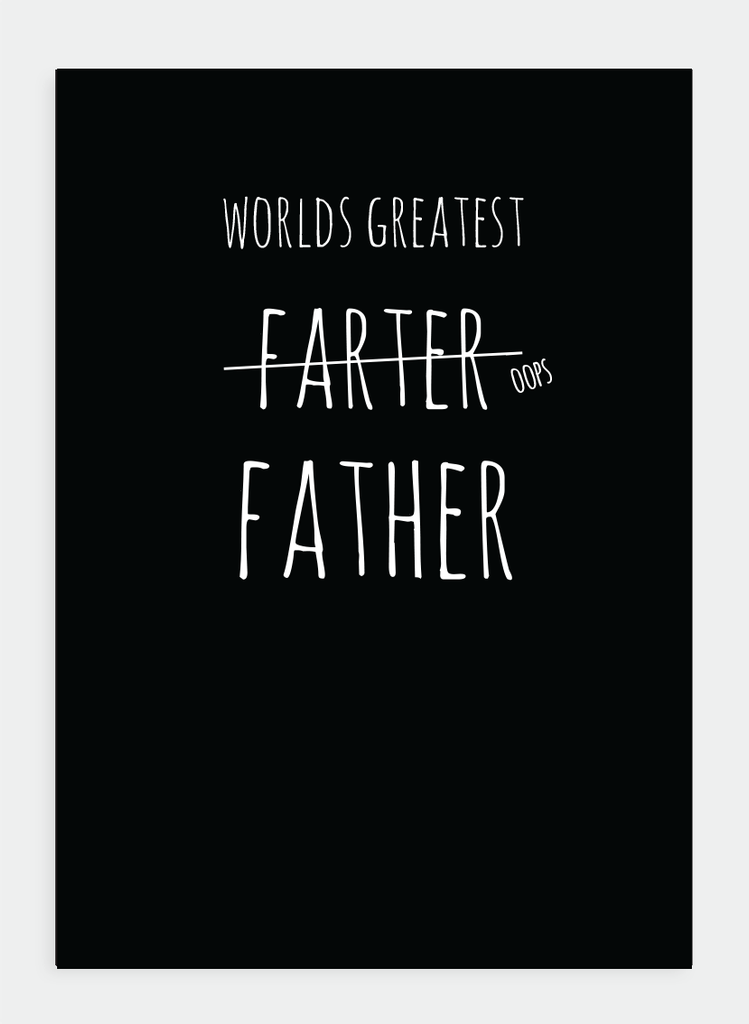 MM132 World's Greatest Farter... (Pack of 6)