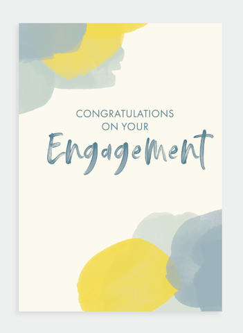 MM138 Congratulations on Your Engagement (Pack of 6)