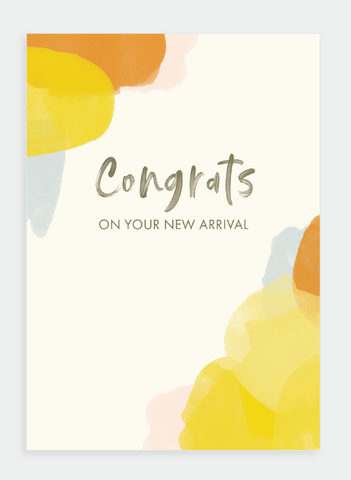 MM139 Congrats on Your New Arrival (Pack of 6)