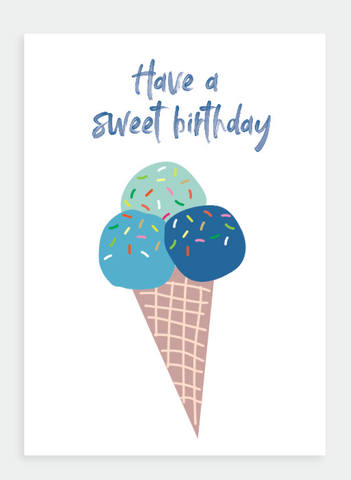 MM147 Have a Sweet Birthday (Pack of 6)