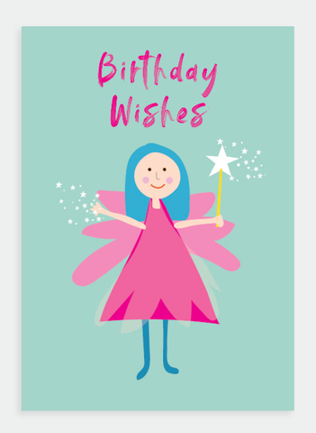 MM149 Birthday Wishes Fairy (Pack of 6)