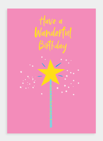 MM150 Have a Wanderful Birthday (Pack of 6)