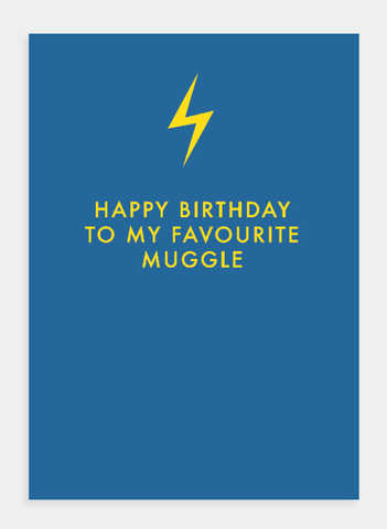 MM155 Happy Birthday Muggle (Pack of 6)
