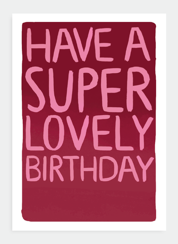 MM81 Super lovely birthday...(Pack of 6)