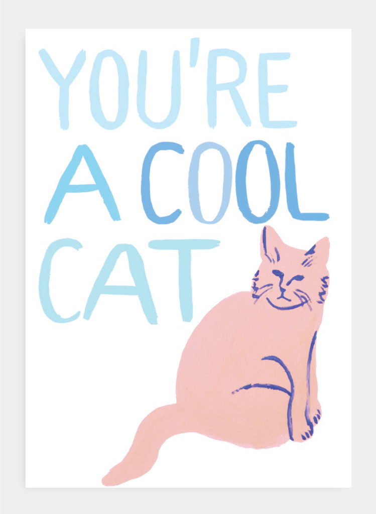 MM83 You're A Cool Cat (Pack of 6)