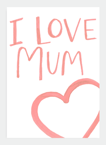 MM94 I Love Mum (Pack of 6)