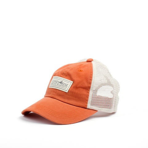 Orange Mesh Back Hat