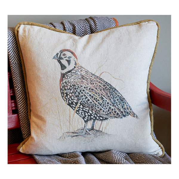 Mearns Quail Pillow