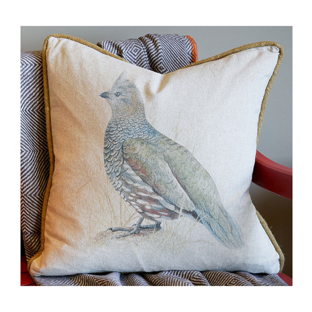 Scaled Quail Pillow
